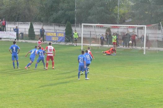 Dacia Unirea Braila a trecut dupa loviturile de departajare de Sporting Liesti