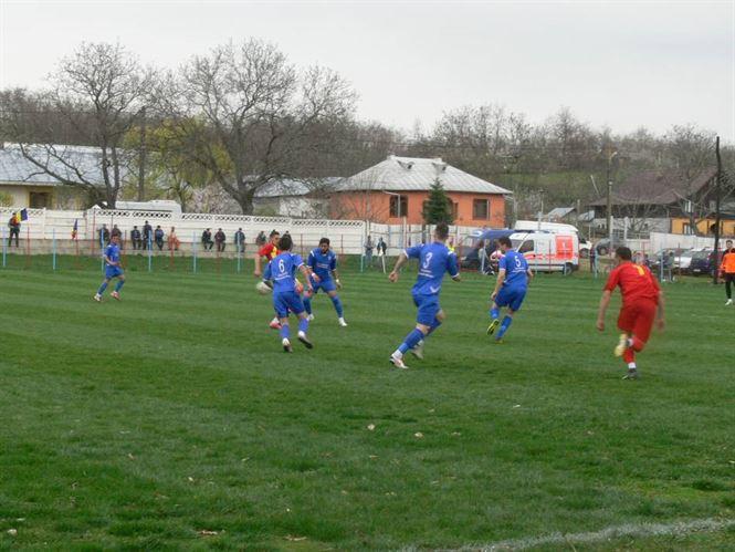 Sportul Chiscani invinsa cu 0-7 de Avantul Valea Marului