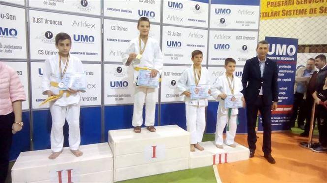 Patru judoka de la CSM Braila pe podium la turneul international de la Focsani