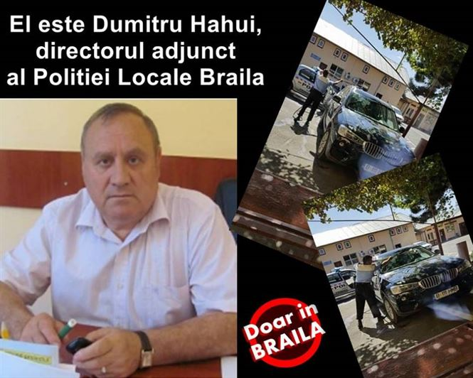 Hahui a demisionat de la Politia locala Braila