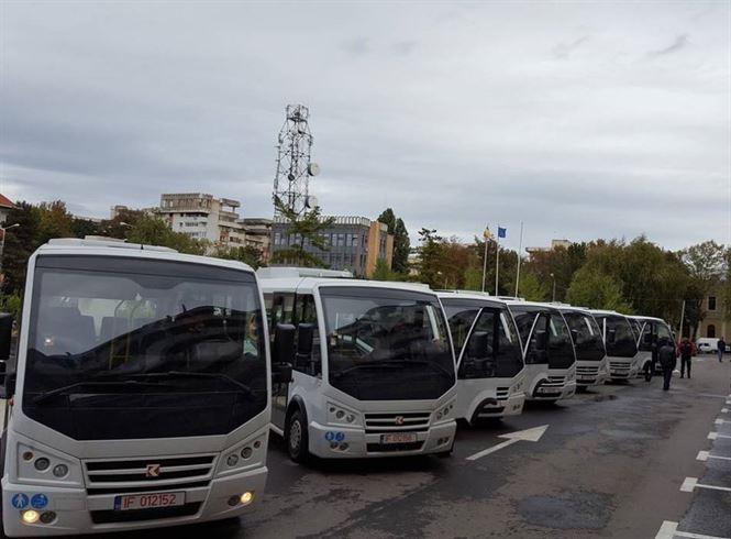De saptamana viitoare vom avea autobuze noi pe traseele 16 si 17