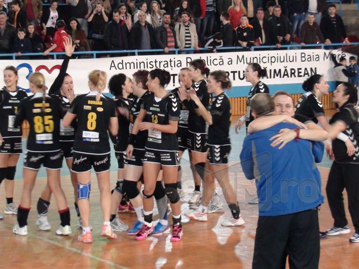 Baia Mare joaca cu Viborg pentru grupele Ligii Campionilor