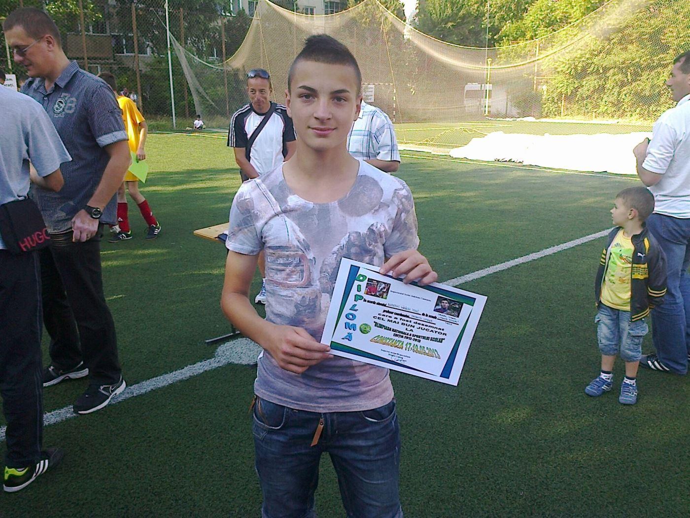 Juniorii de la Luceafarul Braila pe locul 3 la Brasov Cup