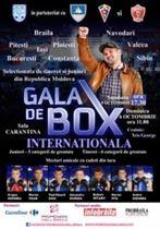 Gala internationala de box la Sala Sporturilor din Braila