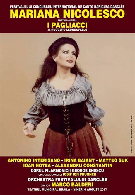 A inceput Festivalul si Concursul International de Canto Hariclea Darclee
