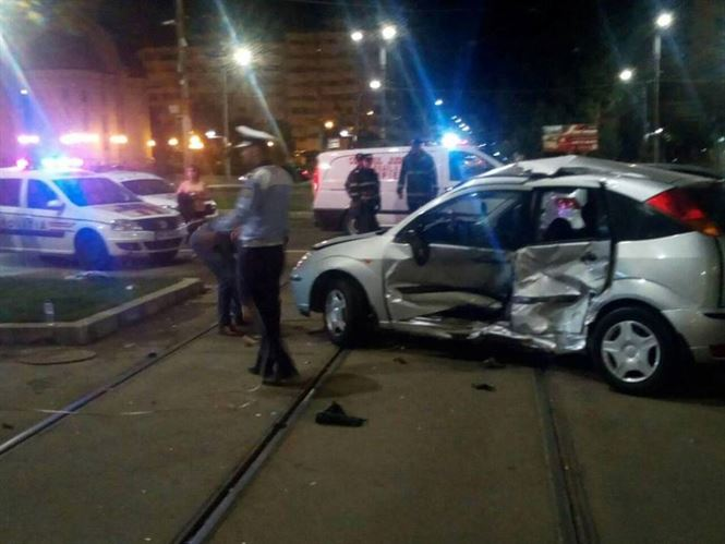 Accident in miez de noapte in zona Bariera Calarasilor