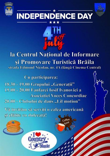 Braila petrecere in stil american pe 4 iulie