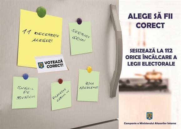 Masuri luate in vederea organizarii alegerilor de duminica