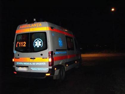 Accident de circulatie pe DE 584, in satul Albina