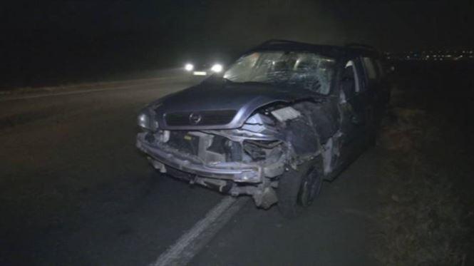 Accident in lant, cu 4 masini implicate, pe soseaua dig Braila - Galati