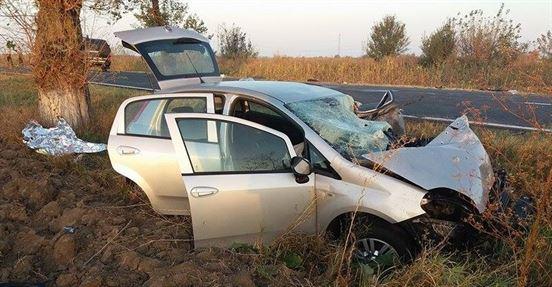 Accident mortal pe DN 2B, la iesirea din satul Lacu Sarat