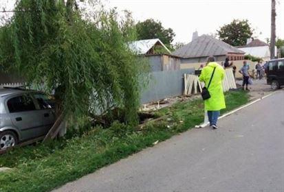 Accident rutier la Tichilești