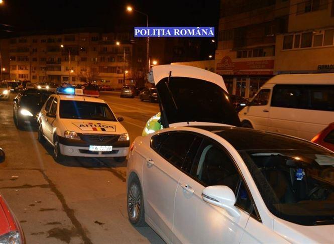 Actiuni ample desfasurate, vineri si sambata, de politistii braileni
