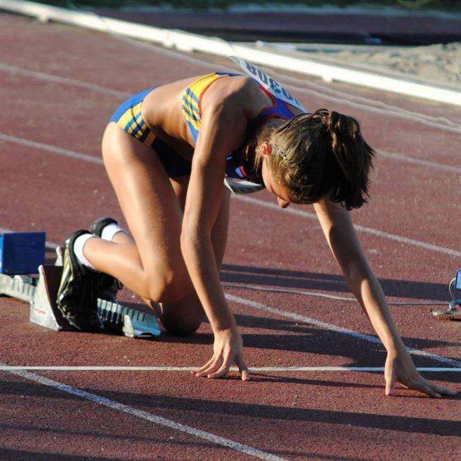 Adelina Mihaela Sandu campioana nationala la 100 m garduri