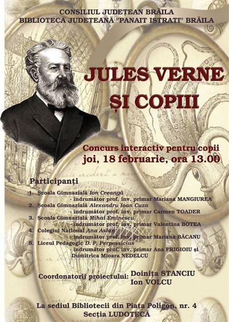 Afis Jules Verne