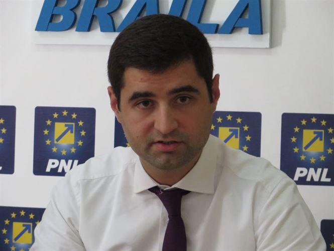 Alexandru Danaila si-a anuntat candidatura pentru functia de sef al liberalilor braileni