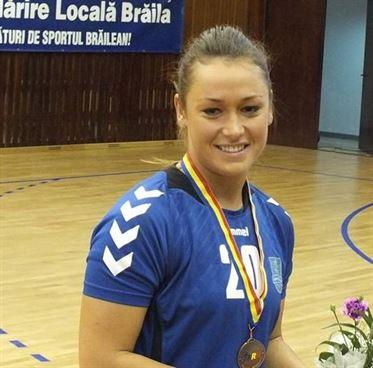 Alina Czeczi a revenit la Dunarea Braila