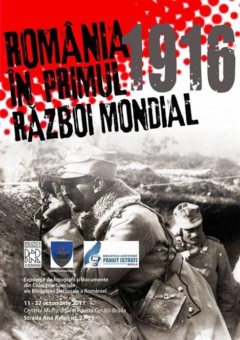 Expoziție - România în Primul Război Mondial
