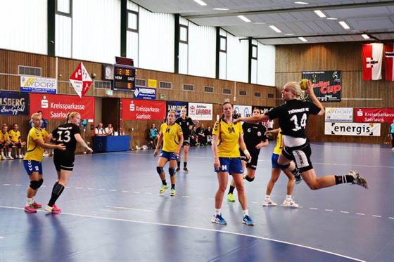 Replica buna pentru HC Dunarea in meciul cu Leverkusen