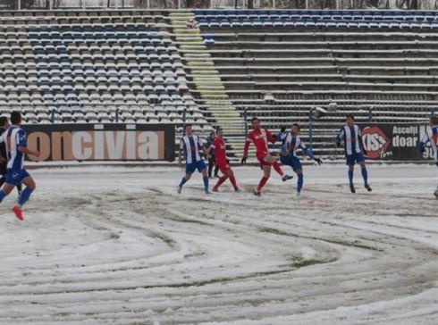 CF Braila tinteste victoria in meciul cu SC Bacau