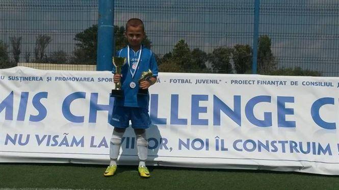 Chiriac Giovani - golgeterul turneului