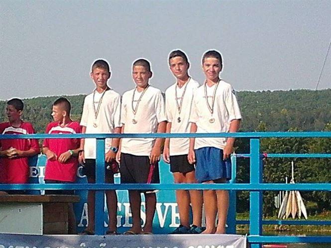 Cinci medalii pentru sportivii de la CSM Braila