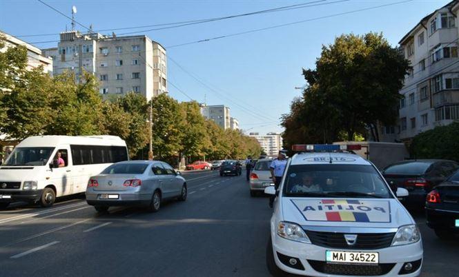 Cinci permise suspendate duminica de politistii de la rutiera