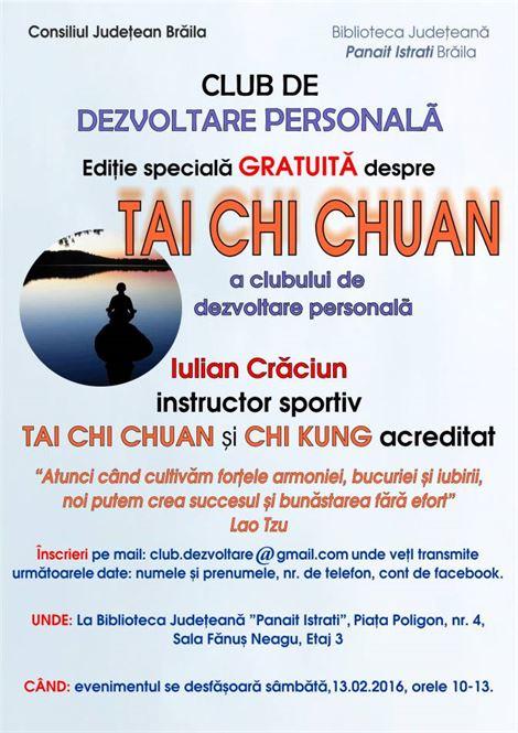 Club de dezvoltare personala Tai Chu Chuan