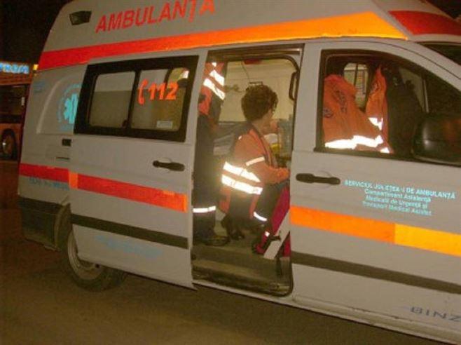 Copil accidentat pe trecerea de pietoni