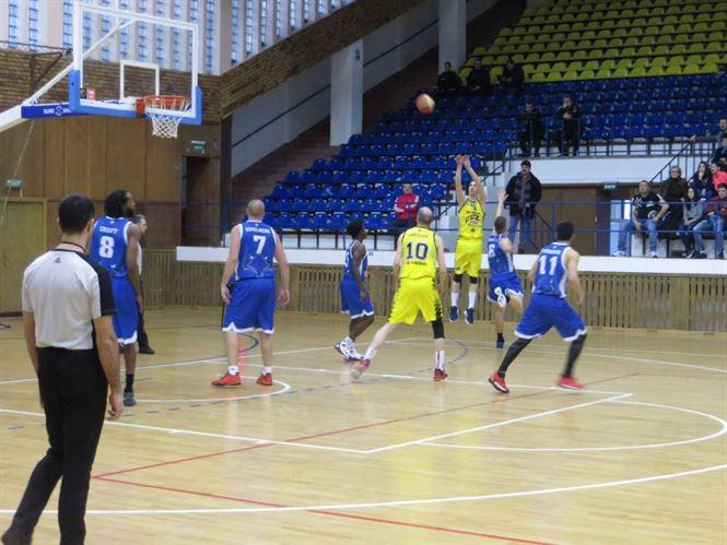Cuza Sport Braila al treilea succes consecutiv in faza semifinala a Ligii 1 la baschet