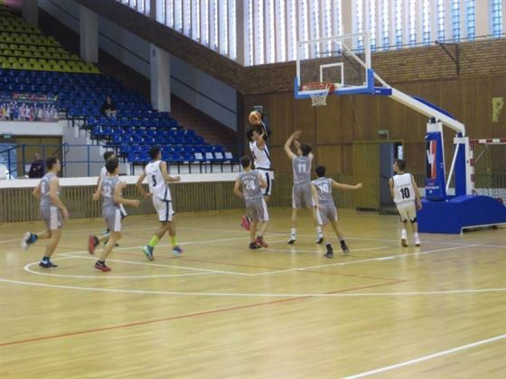 Cuza Sport Braila debuteaza miercuri la turneul final de baschet juniori U 16