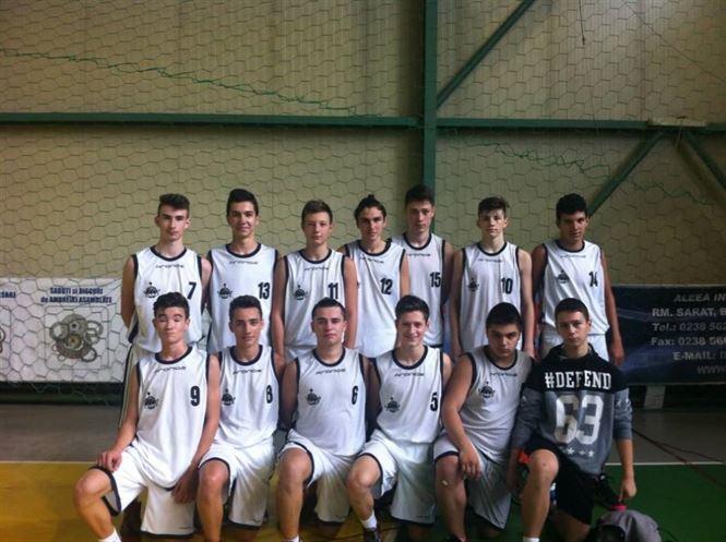 Cuza Sport U16 a castigat grupa turneului preliminar