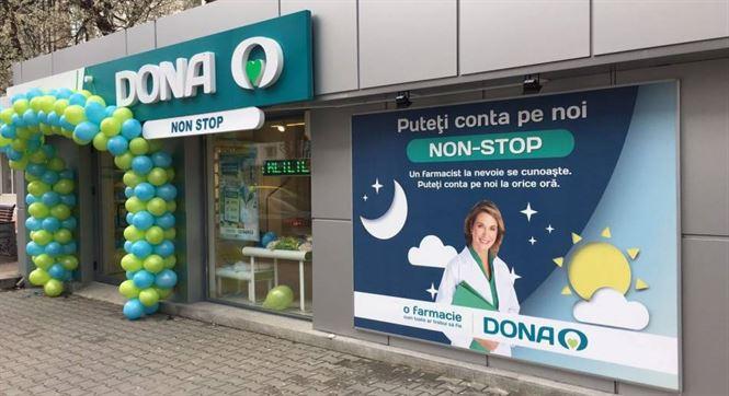 Două farmacii DONA vor funcționa cu program non-stop de Paști și de 1 mai în Brăila