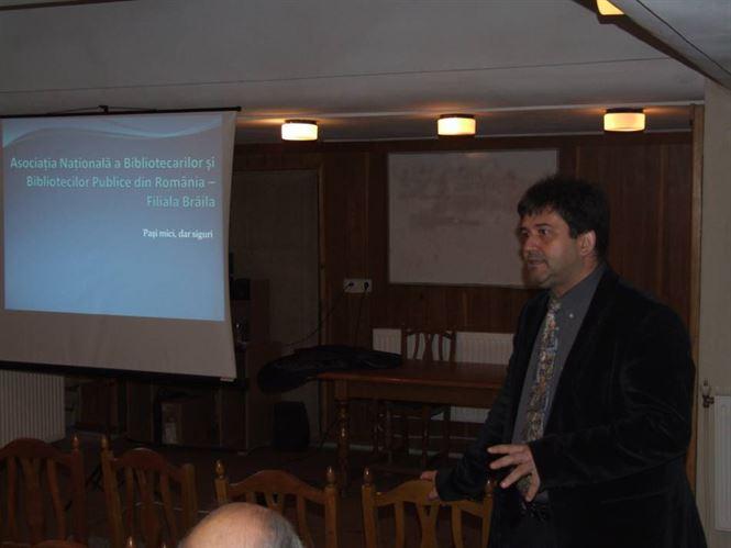Workshop regional Eusphere la Biblioteca Judeteana Braila