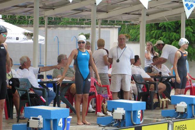 Daria Enciu a obtinut a doua medalie de bronz in a doua zi a nationalelor de inot