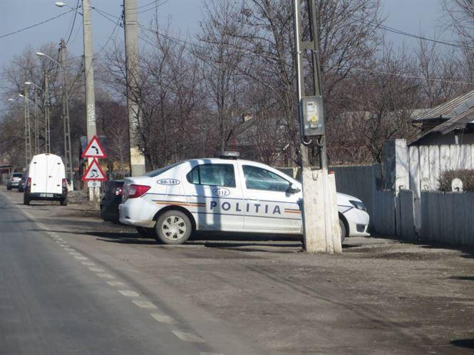 Poliţişti din cadrul Secţiei 5 de Poliţie Rurală Viziru