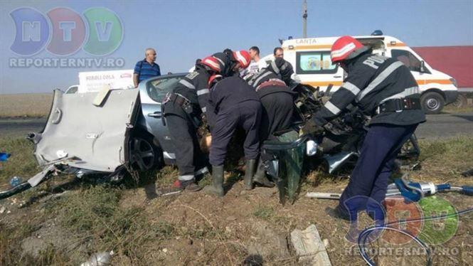Doi militari din Braila morti intr-un accident rutier in Constanta