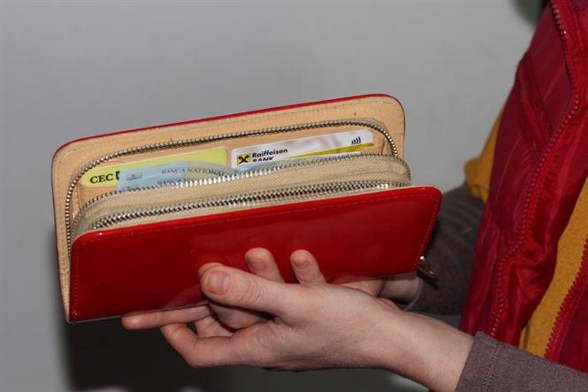 Dosar penal pentru insusirea unui portmoneu uitat pe tejgheua unui magazin
