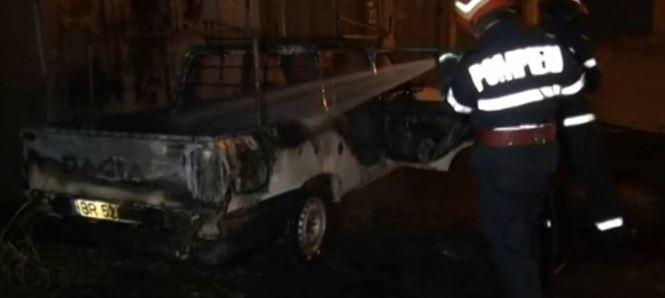 Doua incendii provocate in zona centrala a Brailei