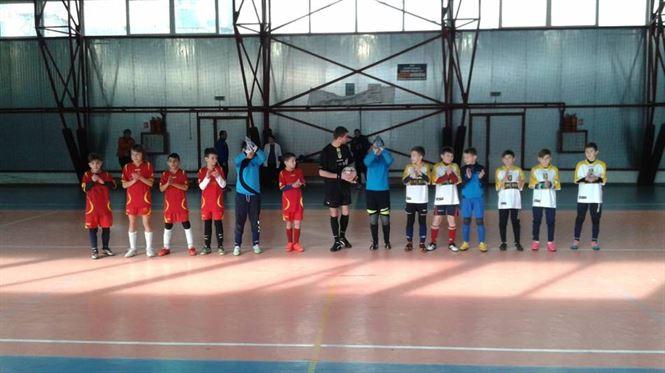 Echipa Liceului Perpessicius s-a calificat la faza zonala a ONSS la fotbal gimnaziu