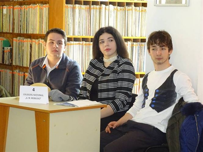 "Echipa de la Murgoci a castigat concursul ""Moliere – maestrul satirei"""