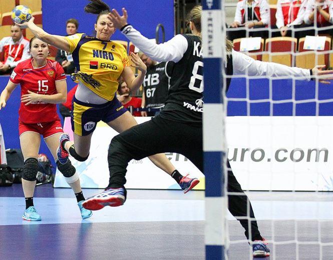 Eliza Buceschi golghetera echipei Romaniei in victoria contra Rusiei