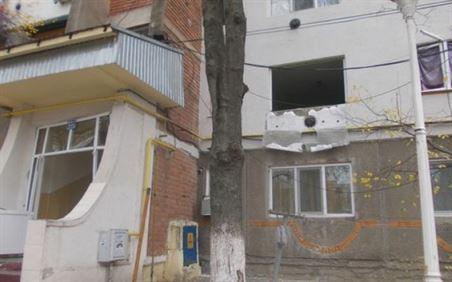 Explozie la un bloc din cartierul Vidin