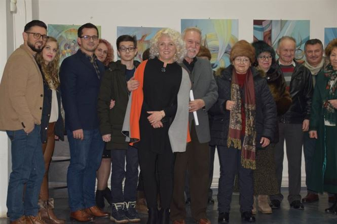 Expoziția artistului plastic Aura Andra Seralio