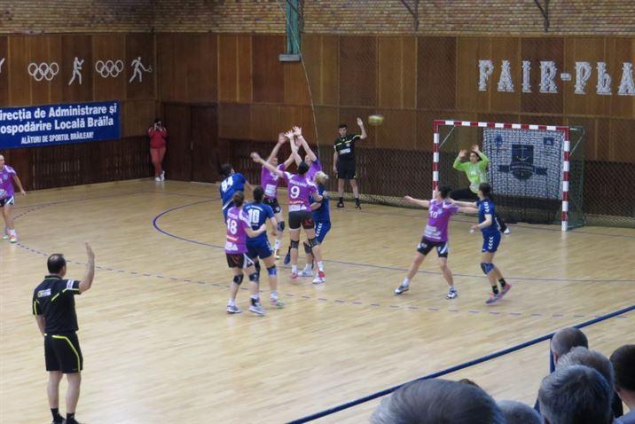 HC Dunarea a pierdut la Brasov si a terminat pe locul 3