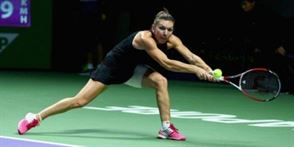 Halep a calificat-o pe Serena in semifinale