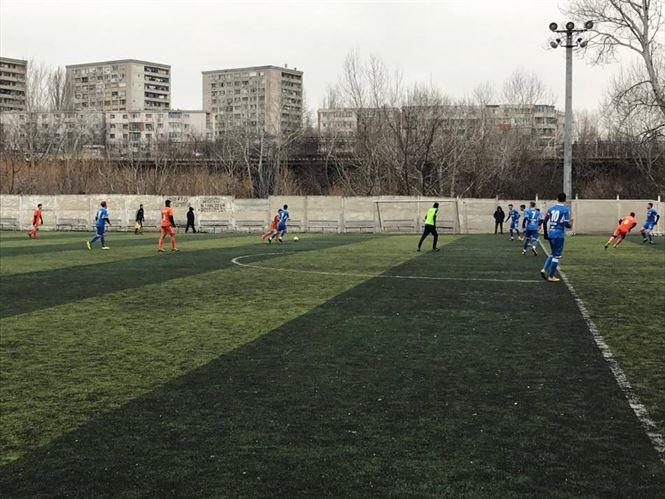 Dacia Unirea Brăila învinsă într-un amical de lidera Ligii a 4-a din Galați