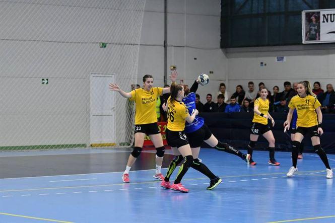Tinerele jucătoare de la echipa de Divizia A a Dunării Brăila învinse de lidera seriei