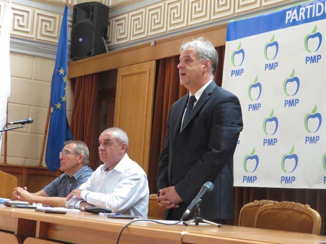 Viorel Botea a fost ales presedintele PMP Braila