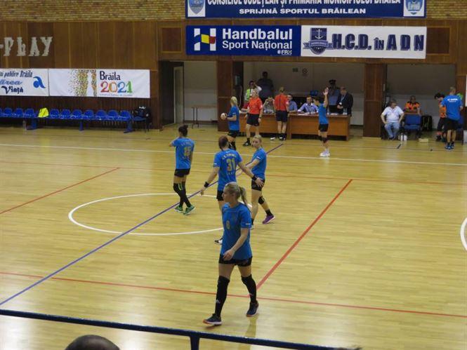 HC Dunarea s-a impus cu 31-26 la Cisnadie